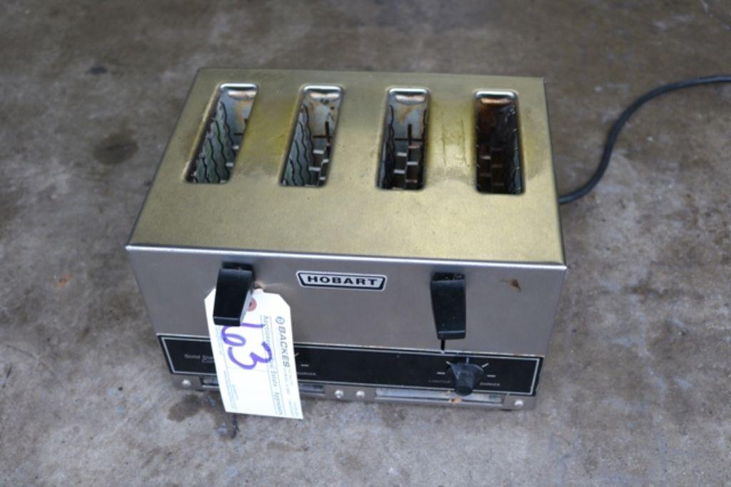 Hobart ET-27/4 elektrischer 4 Scheiben Toaster
