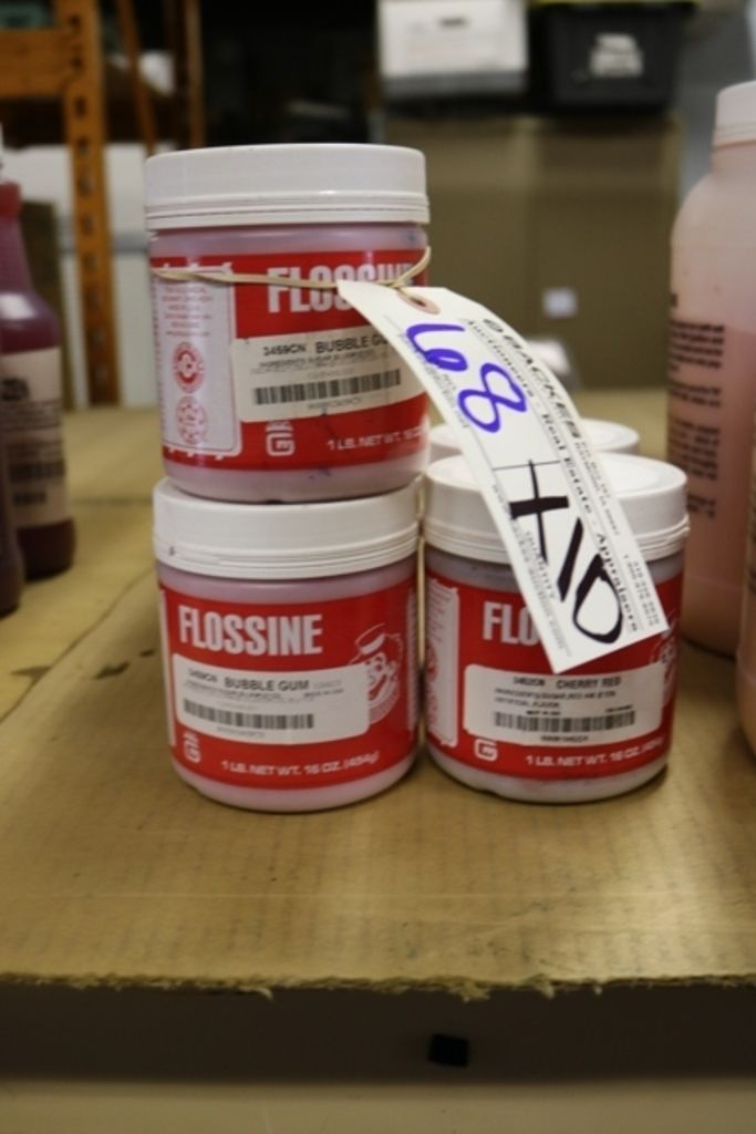 Zeiten 10 - 1LB Flossine (8 Kaugummi & 2 Kirsche)