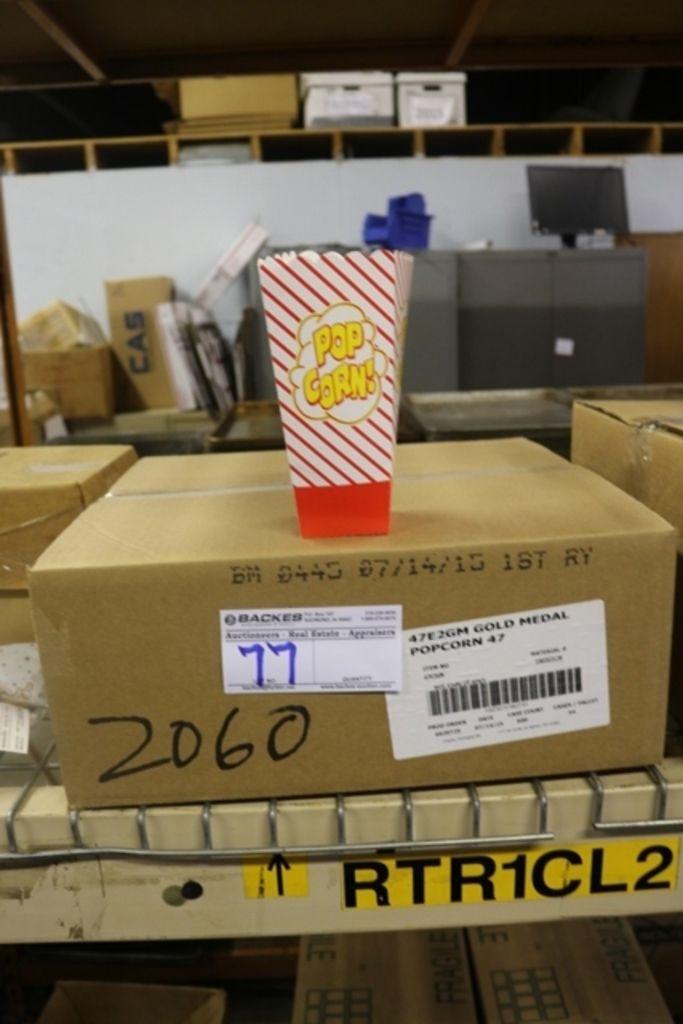 Case Gold Medal 2060 Popcorn-Boxen