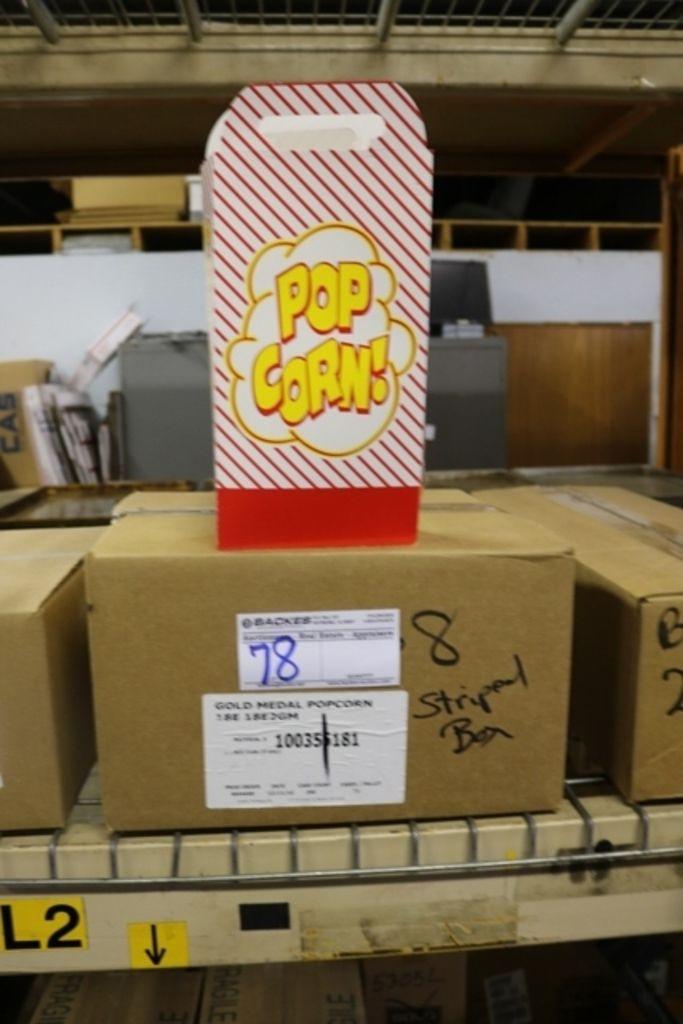 Case Gold Medal 2068 Popcorn-Boxen