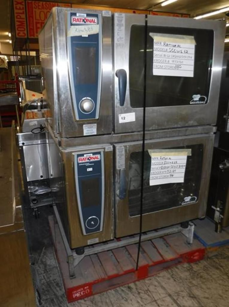 2012 RATIONAL SCC WE62 KOMBI-OFEN
