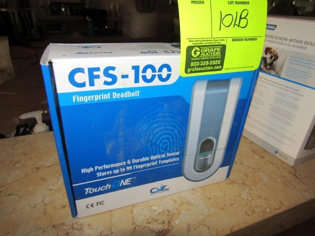 CVE Touch 1NE-Fingerabdruckriegel (Fehlende Schließplatte)