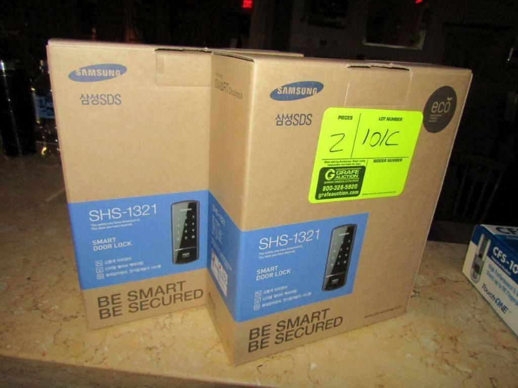Samsung SHS-1321 Smart Türschlösser (NEU)