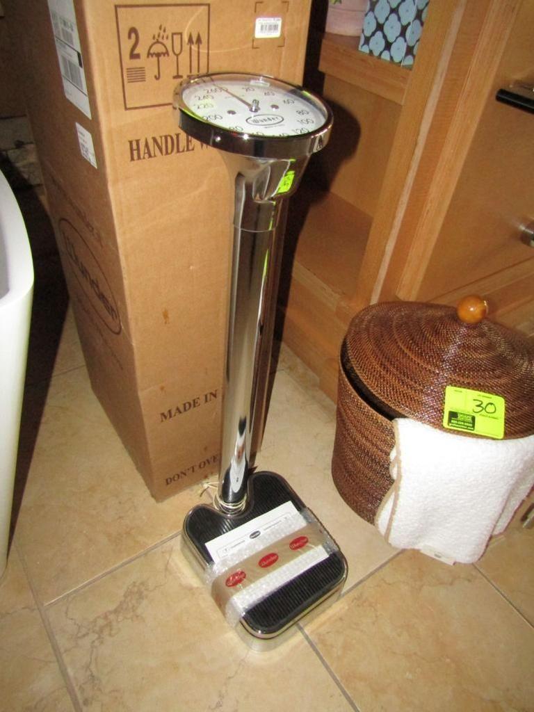 Wunder Chrom Badwaage, 270-lb. x 1-lb.