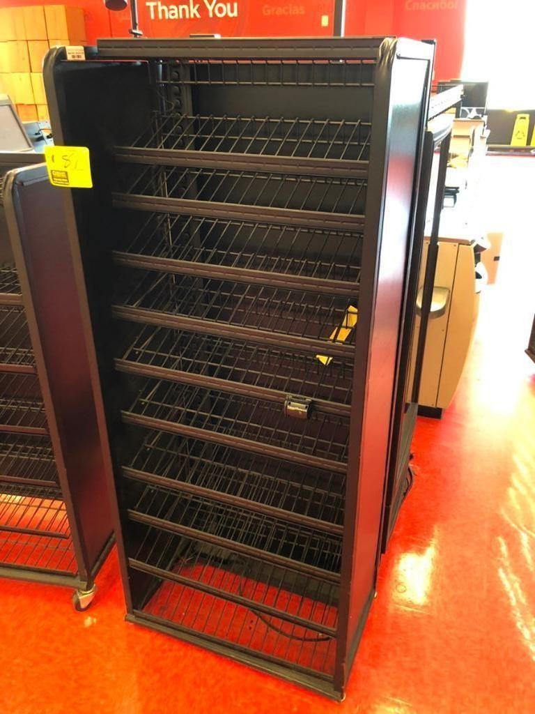 Kühleres seitliches Süßwaren-Merchandiser-Rack