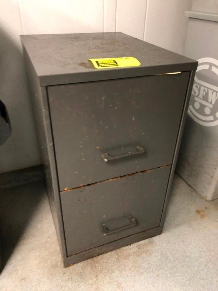 2-Schublade Aktenschrank