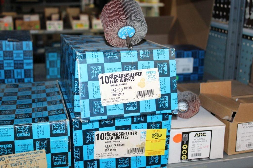 1 Posten Klappenräder - 80, 120, 150 Schleifräder.