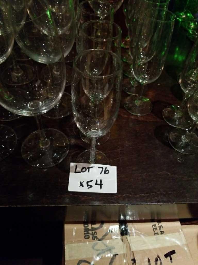 Champagnerglas Brille. 6 Unzen.