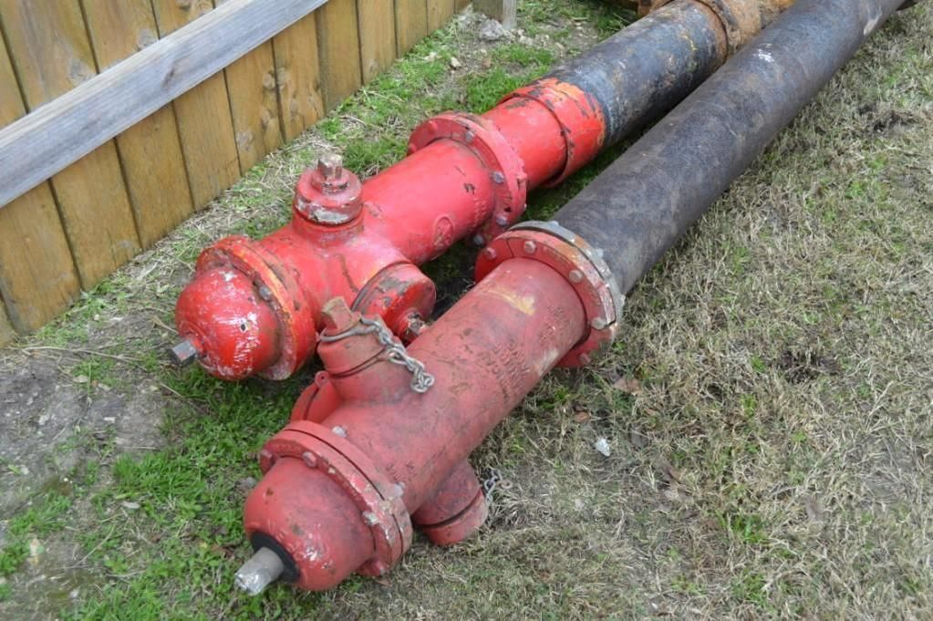 Set mit 2 Hydranten