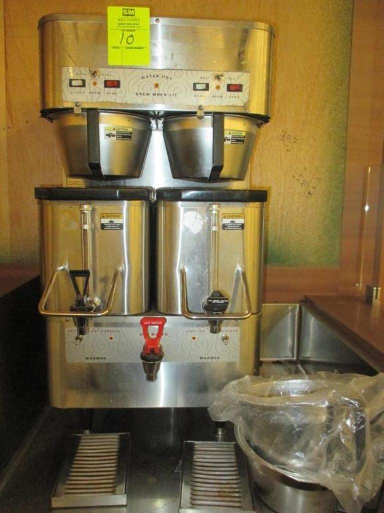 Grindmaster Dual Coffee Brewer