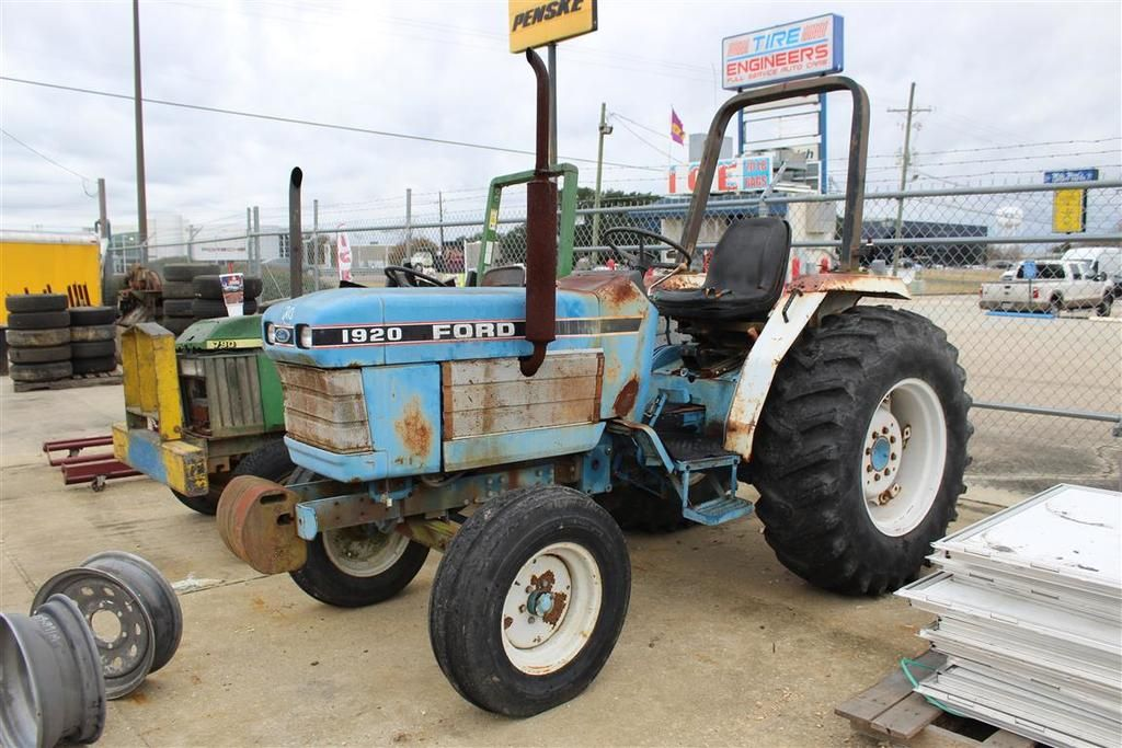 Ford 1920 Traktor, Stunden 1601, S / N UP24261