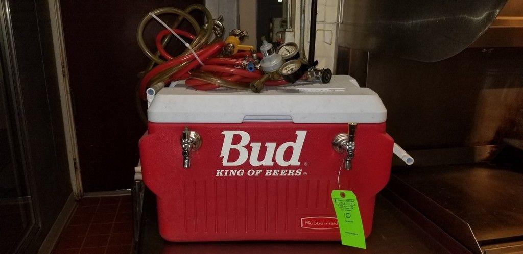 Bierjockey-Box mit 2 Köpfen