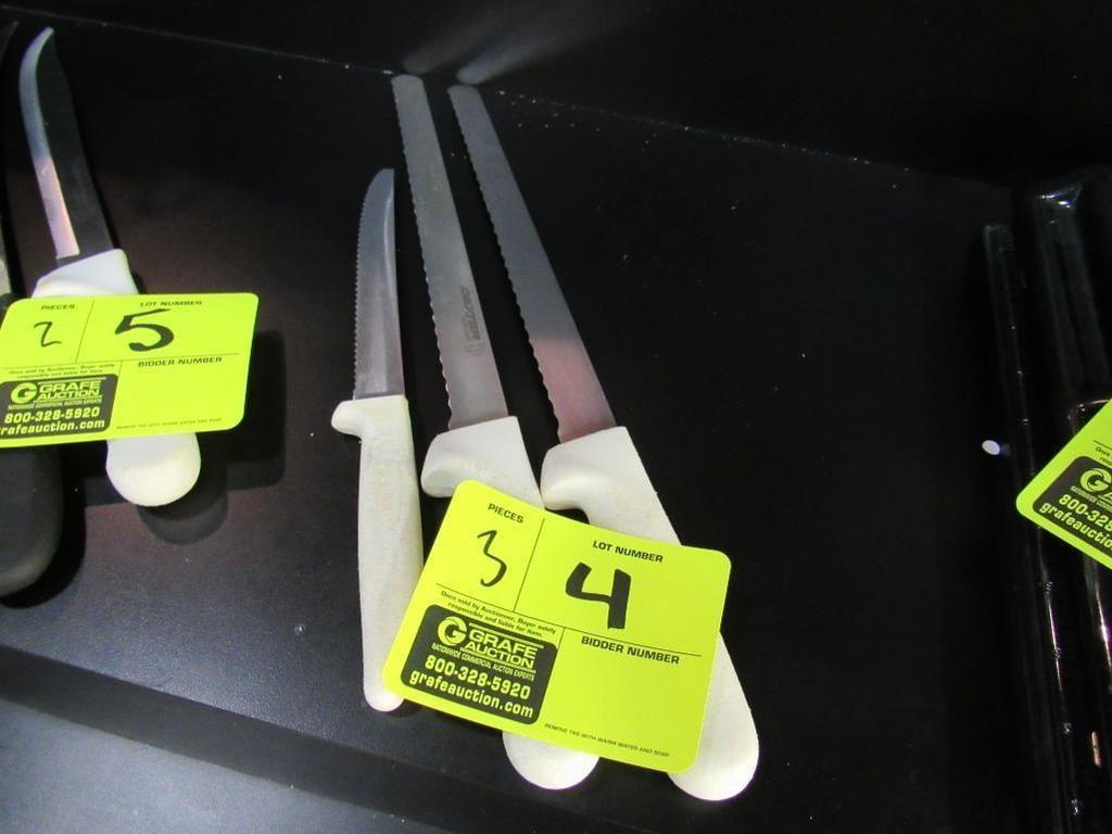 Gezahnte Messer von Dexter