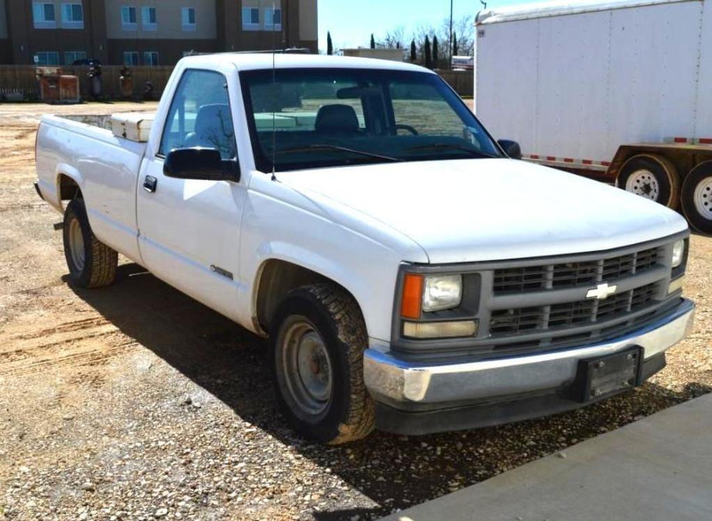 1997 Chevrolet C1500 Pickup Truck, Fahrgestellnummer 1GCEC14W9VZ206454