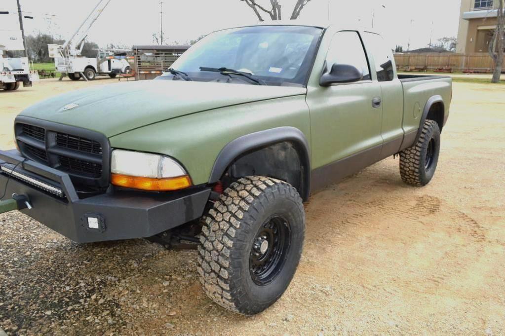 2002 Dodge Dakota Pickup Truck, Fahrgestellnummer # 1B7GG42X32S515075 * Titel *