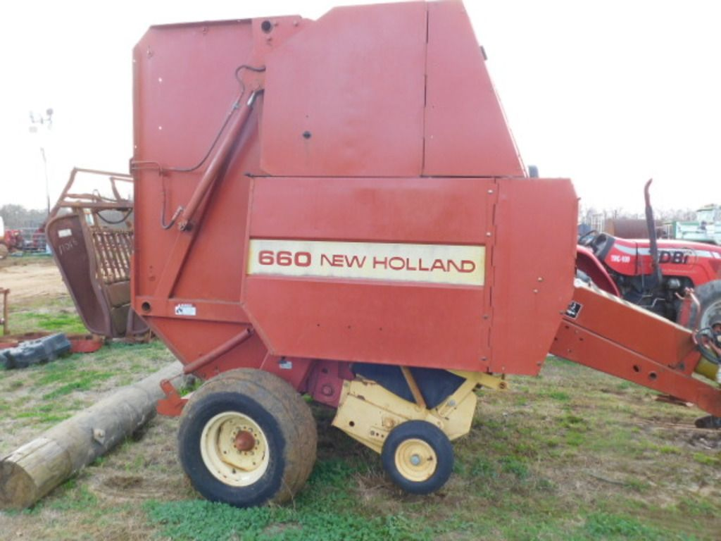 NEW HOLLAND 660 RUNDER BALER / SEHR NICE / MONITOR