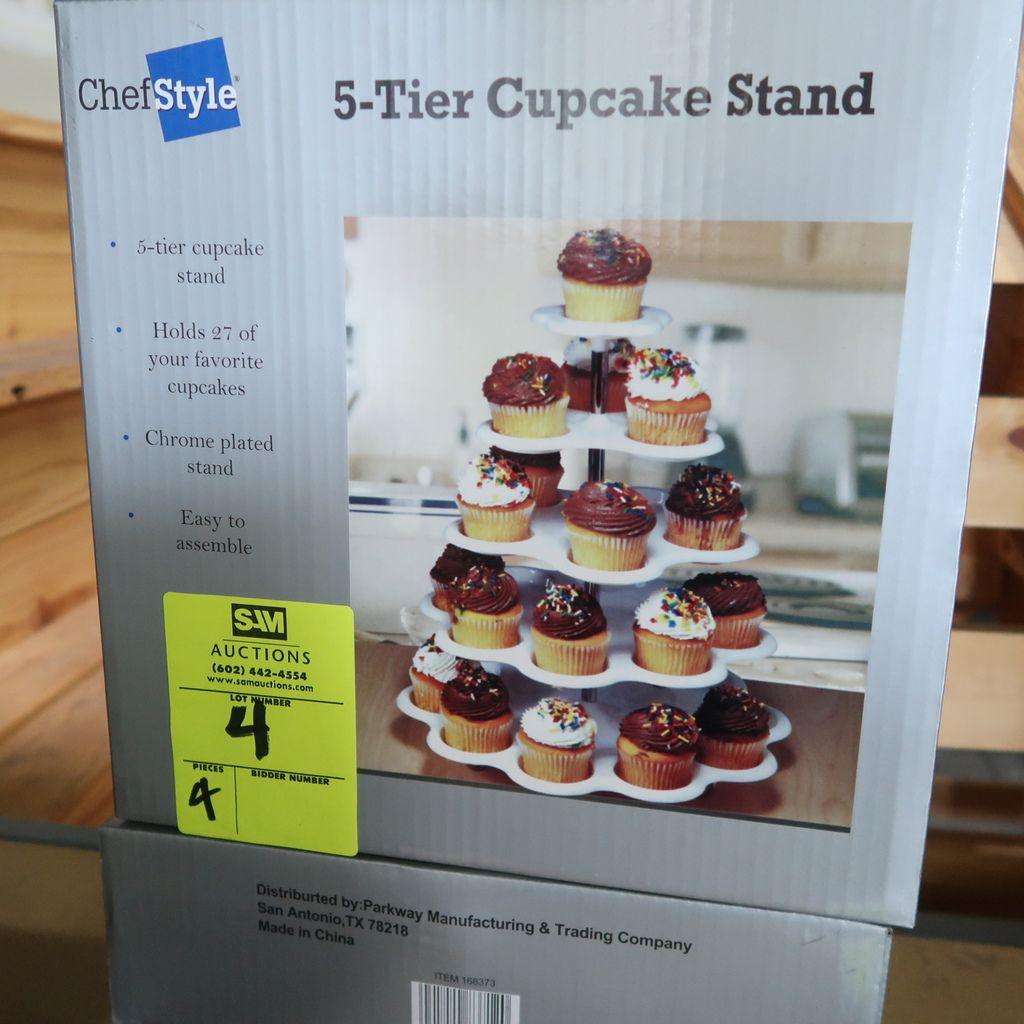 NEUER 5-stöckiger Cupcake-Ständer