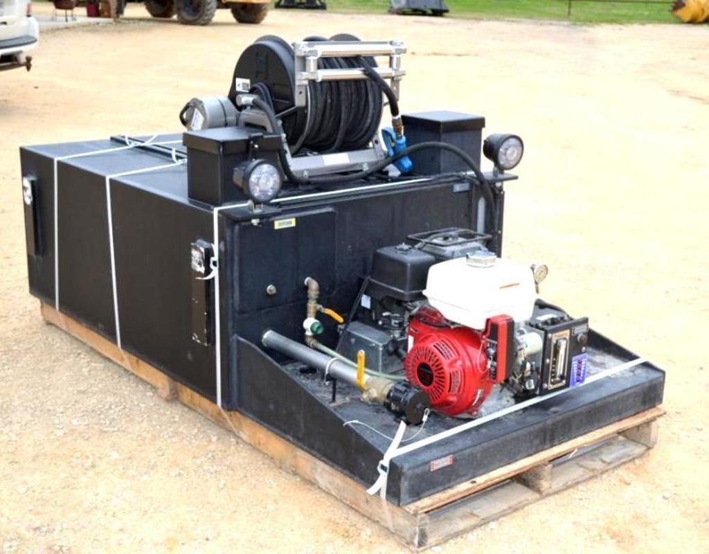 Industrieller Hochdrucksprüher, 250-Gallonen-Tank, Honda GX390 Motor Electric Start