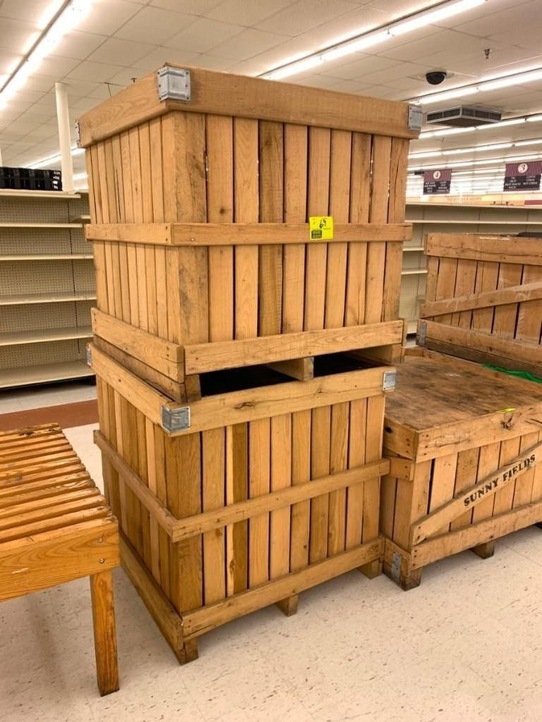 Holzkisten produzieren