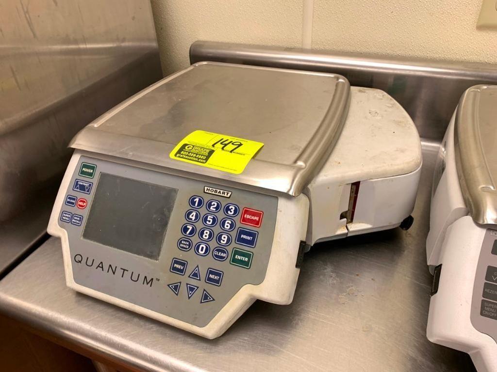 Hobart Quantum digitale 30-lb. Maßstab / Drucker