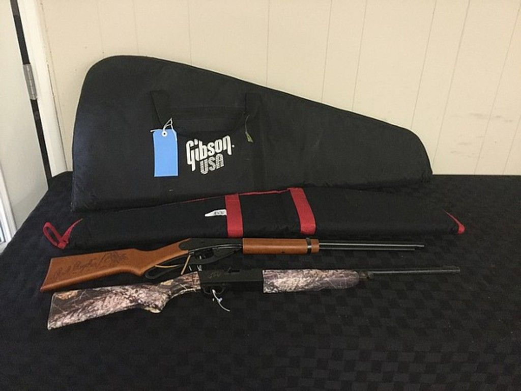 BB Guns red Ryder grizzly, robusterer Gibson-Gewehrkoffer