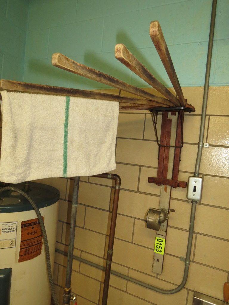 Antike Wand Wäscheständer