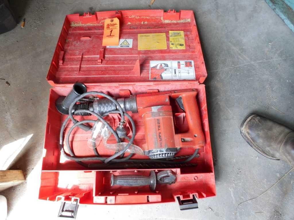 Hilti TE22 Bohrhammer mit Koffer