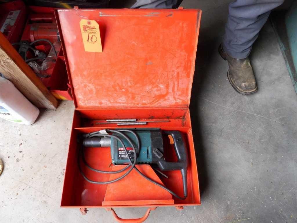 Bosch 1211VS Bohrhammer mit Bits