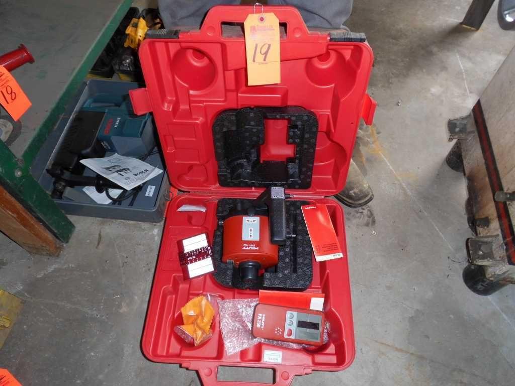 Hilti PR10 Laser Level mit Gehäuse & amp; Meßstab