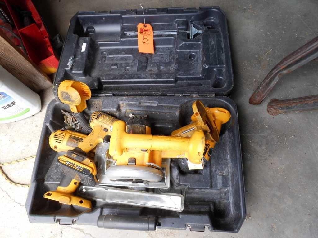 DeWalt Kreissäge, Akku-Werkzeuge (mehrere)