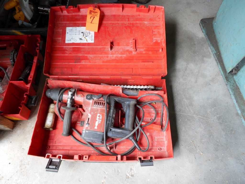 Hilti TE55 Bohrhammer mit Koffer & amp; Bits