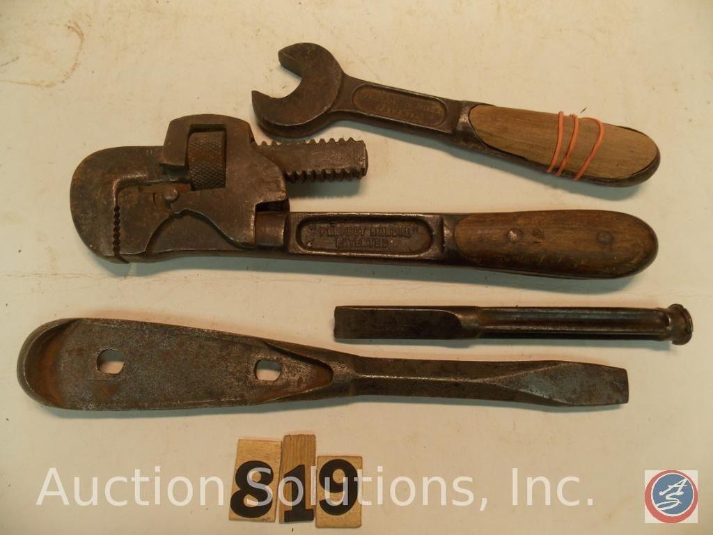 Perfekter Griff Teile, einschließlich Meißel - Rohrschlüssel - Gabelschlüssel