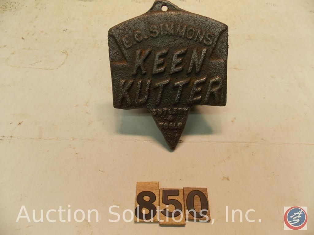 Keen Kutter Logo Casting