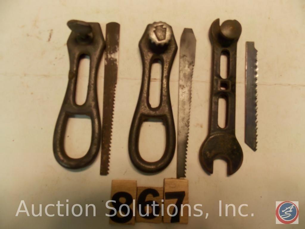 Keen Kutter Taschensäge und Werkzeug, 4 Zoll. Original-Einstellschraube mit Logo fehlt an einer.