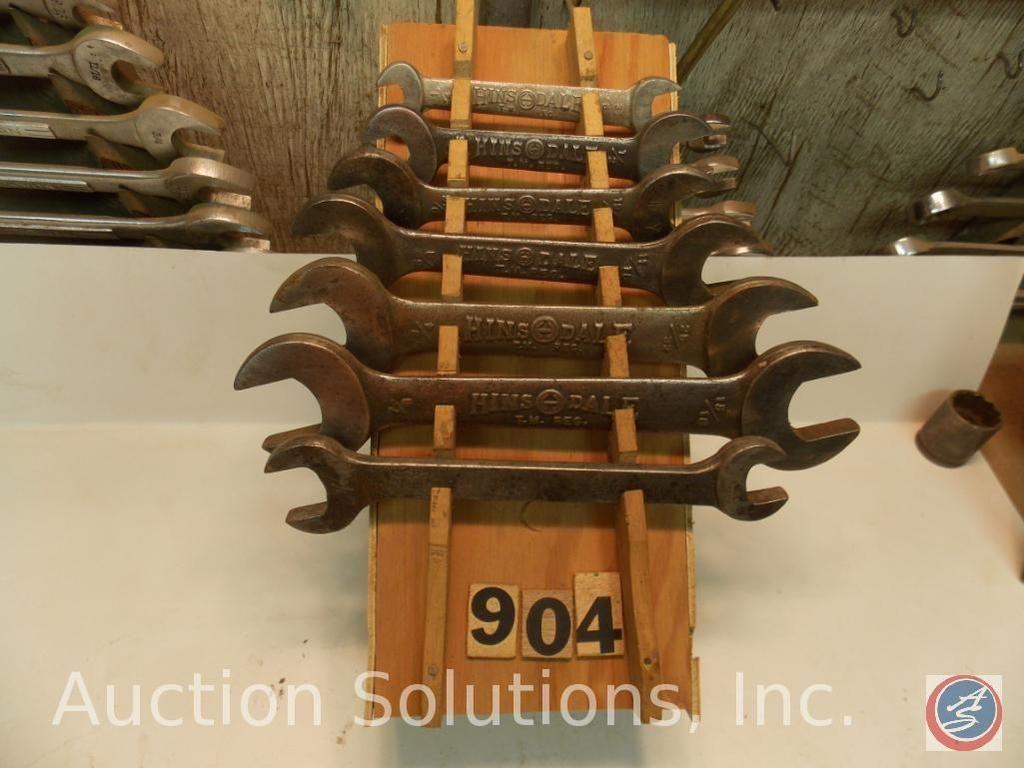 Display Hinsdale (hausgemacht) mit Schraubenschlüssel 15/16 bis 1/4 in.