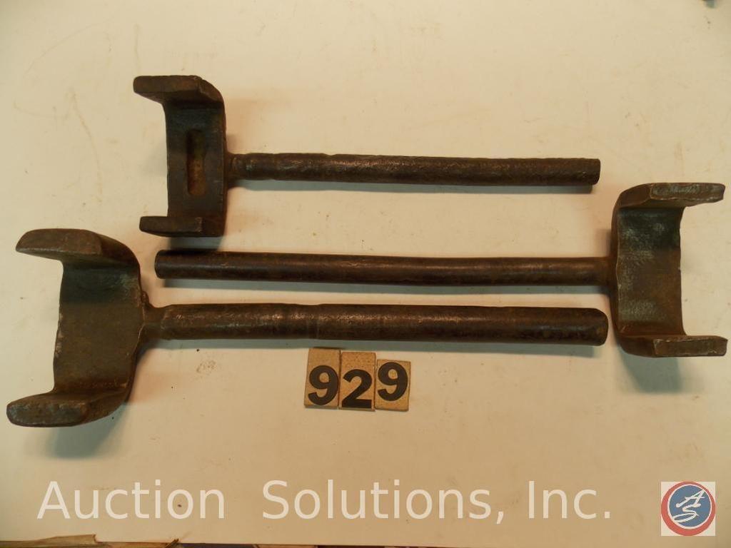 Buggy Wrench (3) Stück handgeschmiedet 9 in. Bis 11 in.