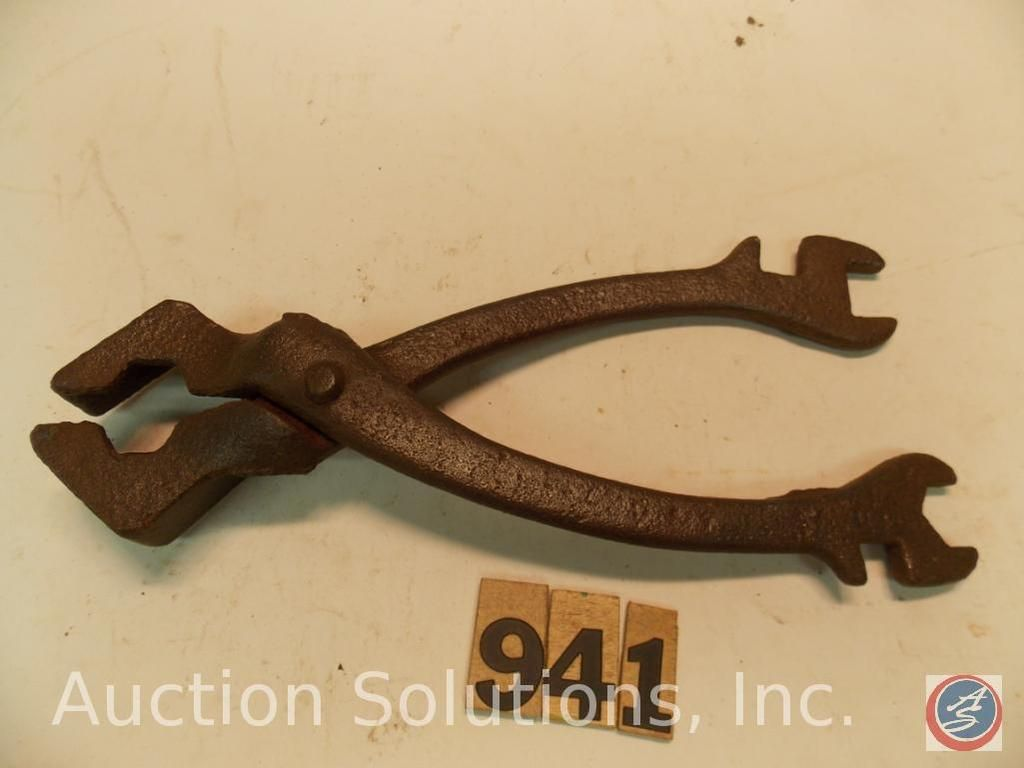 Buggy Wrench 9 in. Von GA Hosmer and Co, nicht markiert (oder abgenutzt)