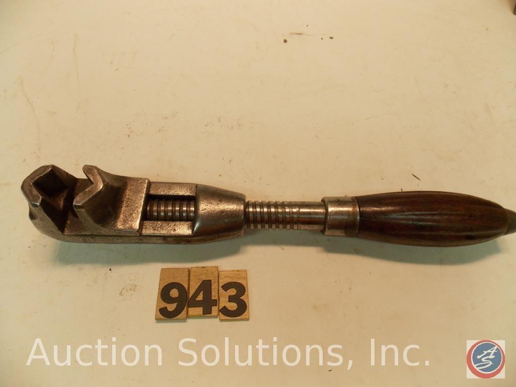 Buggy Wrench 11 in. American einstellbar, nicht markiert (selten)