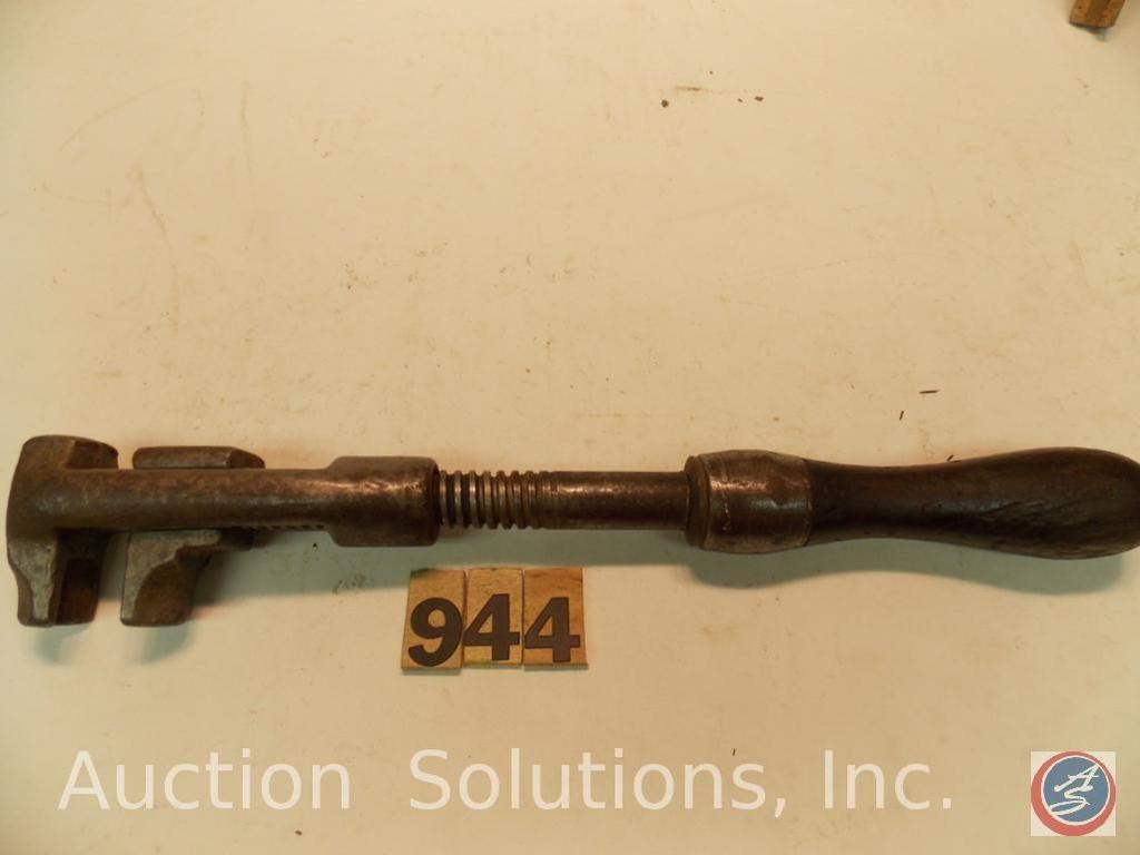 Buggy Wrench 12 in. American einstellbar, nicht mit Ersatzgriff markiert