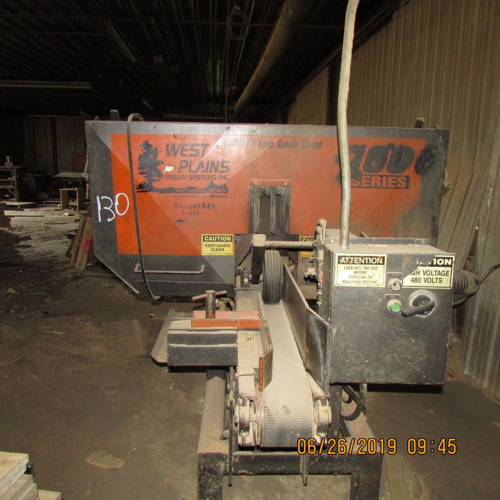 WEST PLAINS SINGLE HD BAND RESAW