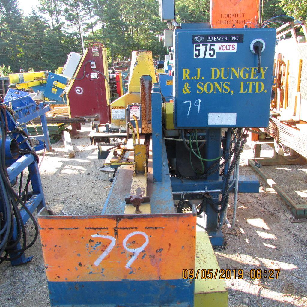 BRAUERKAMMERMASCHINE MDL GE2000CF S / N 090300RW MIT HYD LIFT TABELLE, (2) HYD PACKS & amp; ALL 575