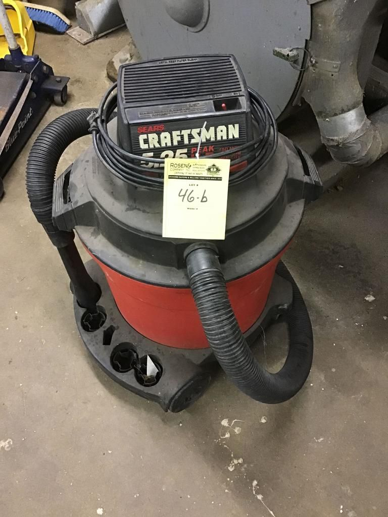 Craftsman 5.25 HP Ladenvak