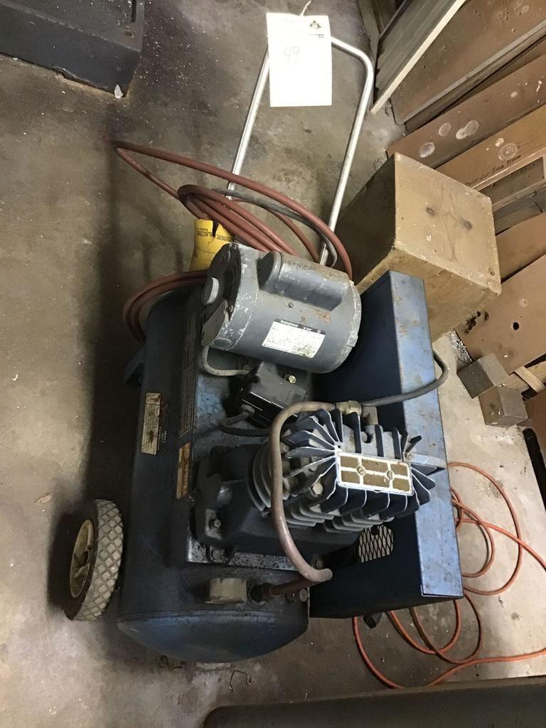 Brauner Hochleistungsluftkompressor, 1 PS