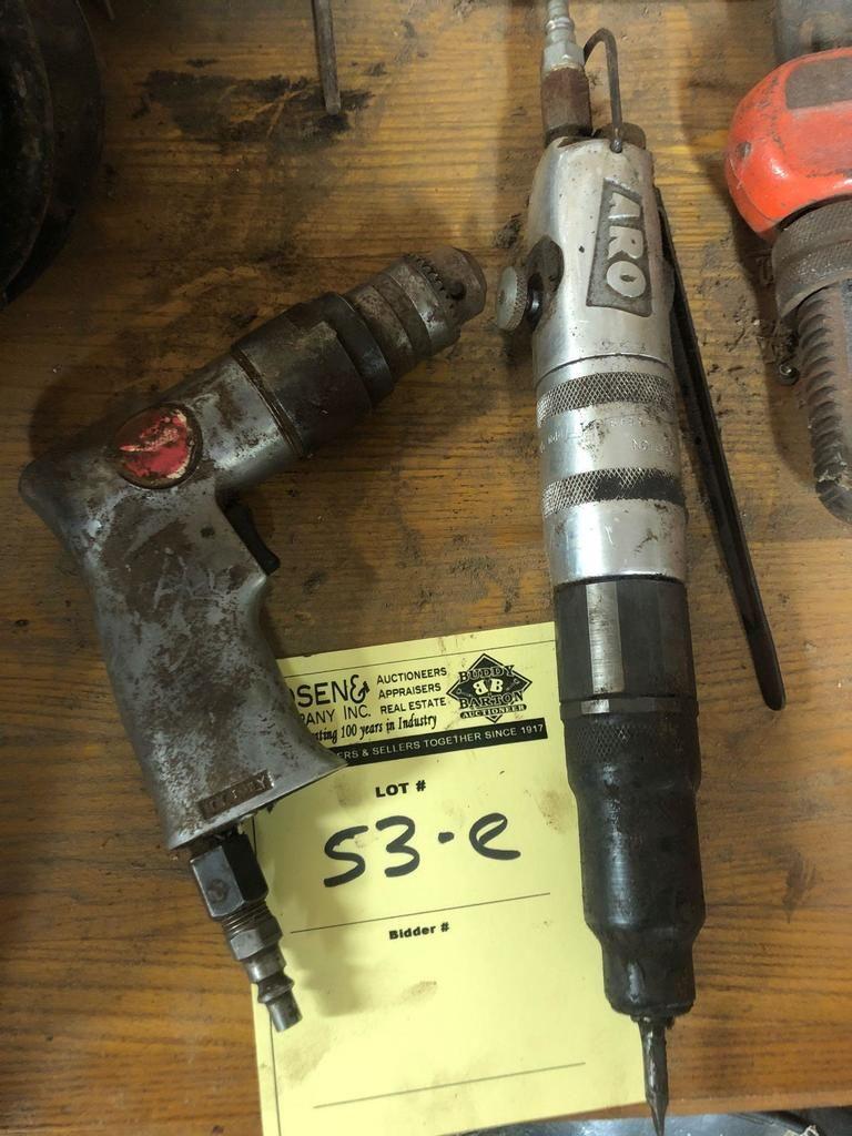 Lot von (2) Air Tools, Verkauft mal das Geld