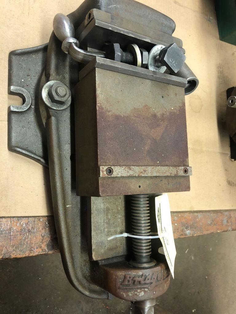 Bridgeport Maschinenschraubstock mit Griff