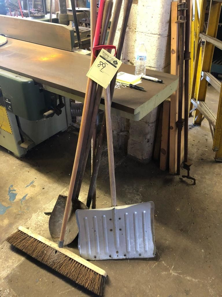 Gruppenlos lange Griffwerkzeuge und Stangenklemmen