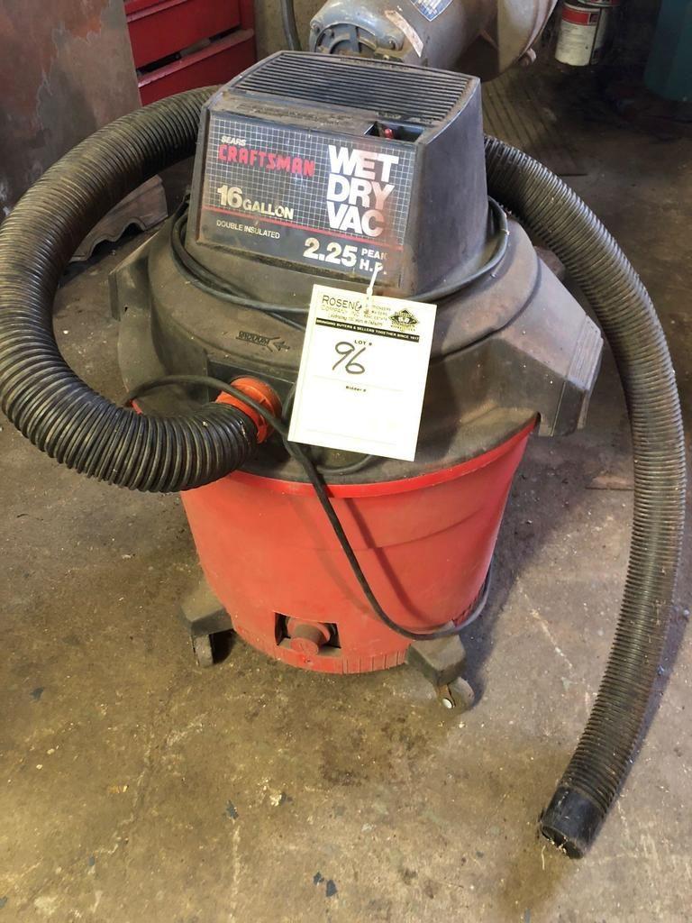 Handwerker 16 Gallone Wet / Dry Vac