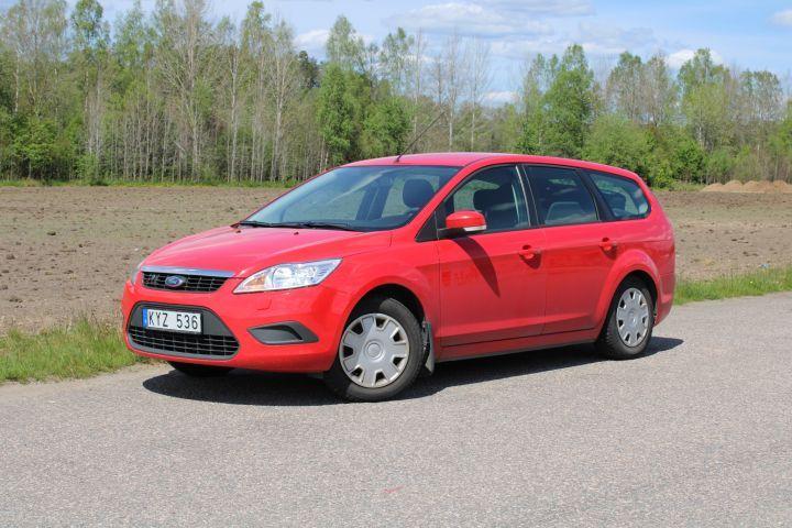 Ford Focus 1.8 Tripple Fuel -10 (Benzin, Methangas, SoV-Reifen)