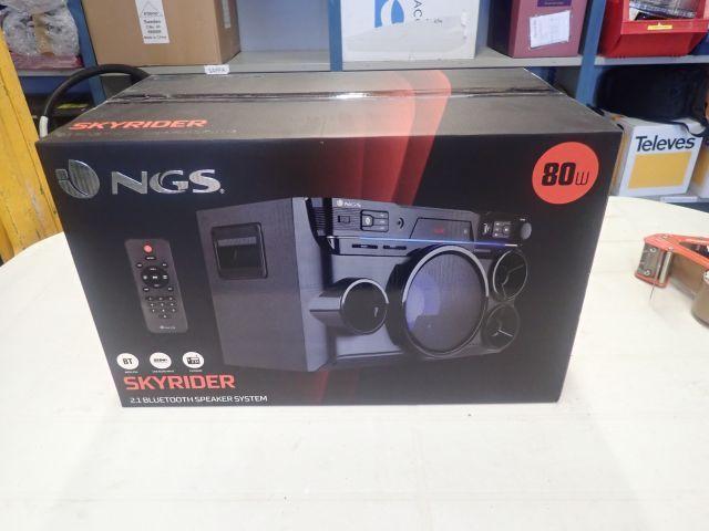 Bluetooth-Lautsprecher NGS NY