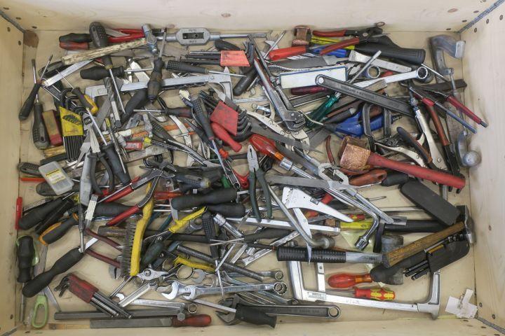 Sortiment mit Werkzeugen